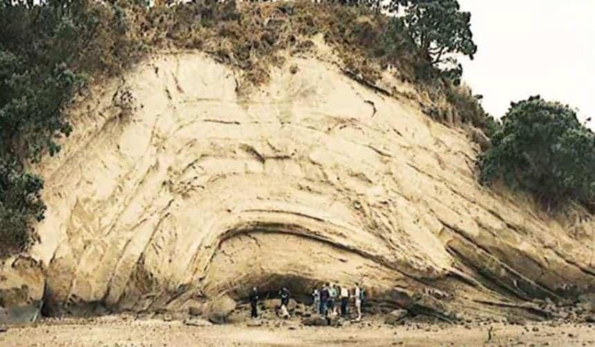 Formation géologique de Nouvelle-Zélande