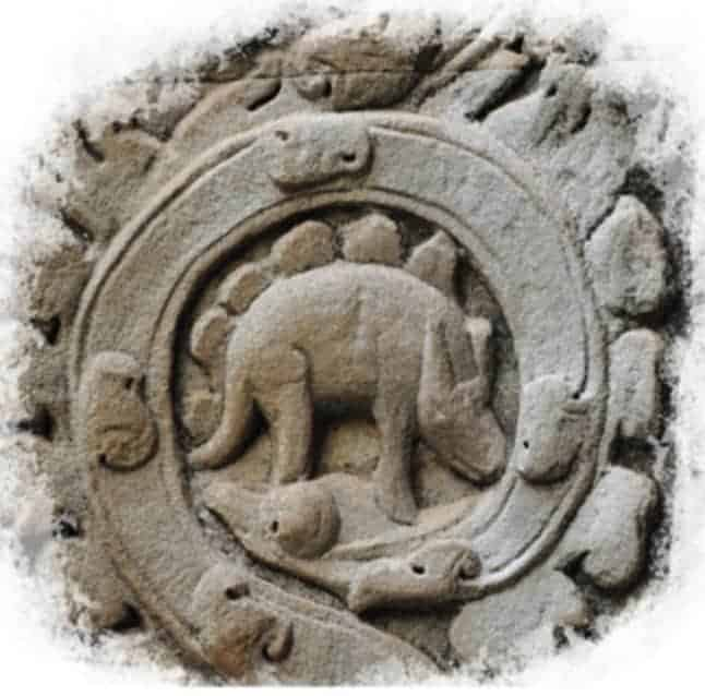 Le stégosaure d'Angkor Wat