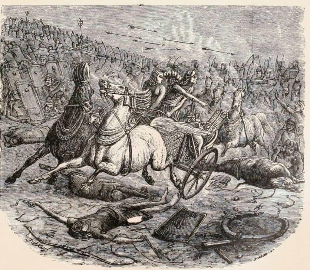 Y avait il des chariots en Egypte avant la période des Hyksos et à l'époque de Josèphe ?