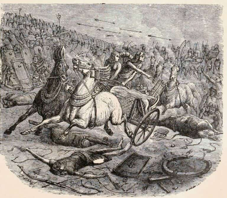 Y-avait-il des chariots en Egypte avant la période des Hyksos et à l'époque de Joseph ?