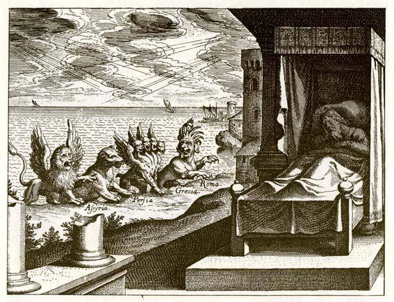 La Prophétie du chapitre 7 de Daniel – Les 4 grands animaux