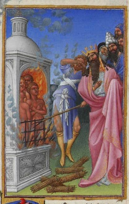 Les trois juifs Shadrak, Méshak et Abed-Nego ont-ils vraiment été jetés dans une fournaise ardente ?
