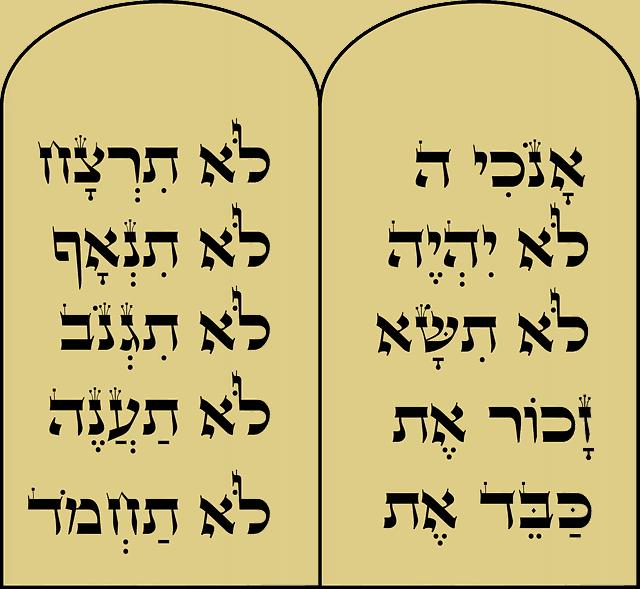 Existait-il un alphabet hébreu à l'époque de Moïse ?