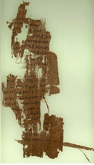 Le papyrus P90 (P. Oxy. 3523) - nouveau testament