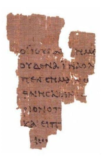 Les plus anciens manuscrits du Nouveau Testament