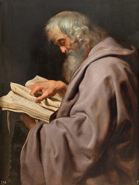 L'Apôtre Simon par Peter Paul Rubens