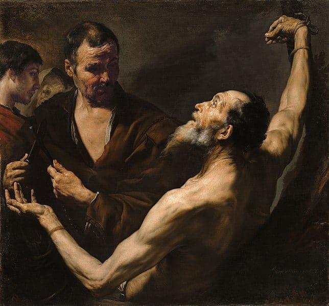 Le martyr de Barthélemy par Jusepe de Ribera