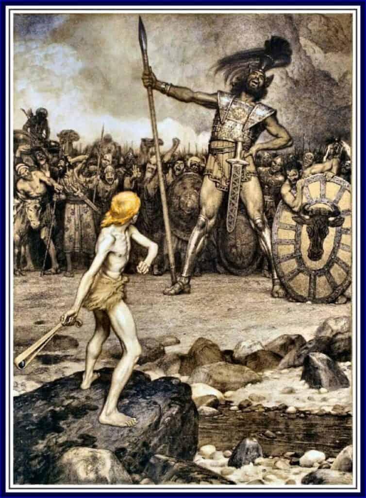 Le combat de David contre Goliath a-t-il vraiment eu lieu ?